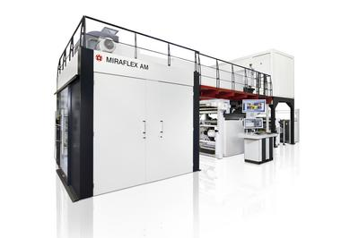 MIRAFLEX AM – the ideal press for newcomers to state-of-the-art CI flexo press technology.