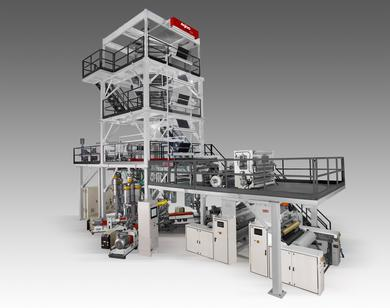 Five layer Co- Extruded Blown Film Line