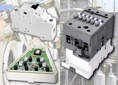 Image: DuPont Contactors, circuit breakers and housing molded from non-halogenated Zytel® PA66 and Zytel® HTN meet demanding requirements for low environmental impact, high-temperature assembly and reliable service.