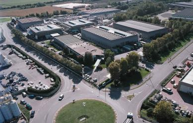 Sabo headquarters in Levate (BG), Italy