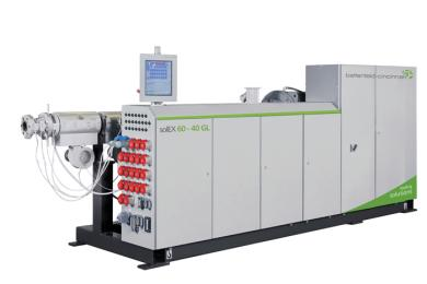 The new solEX GL series takes the solEX single-screw extruder series introduced at the K 2010 a step further.