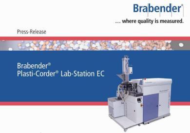 The Brabender® Plasti-Corder® Lab-Station / Lab-Station EC -- K