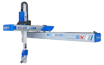 Sepro 5X-35 five-axis robot