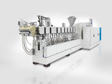 The new ZE BluePower twin-screw extruder series for cost-effective compounding