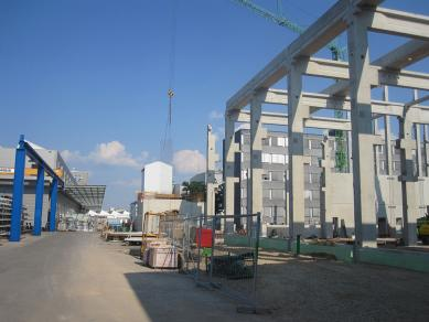 Hosokawa Alpine started building a new manufacturing hall