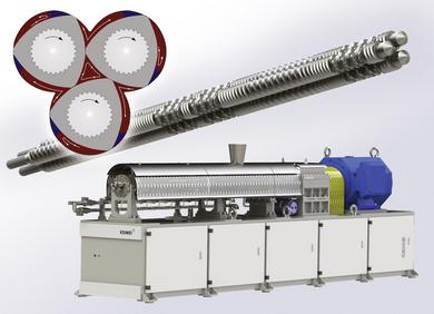 Keimei Triple Screw Extruder