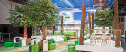 Example of trade fair stand