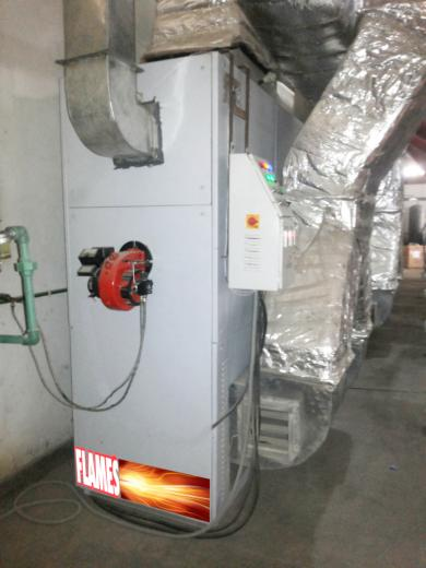 GAS FIRED AIR DRYERS FOR CI FLEXO AND GRAVURE PRINTING