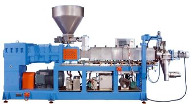 counter rotating twin-screw extruder