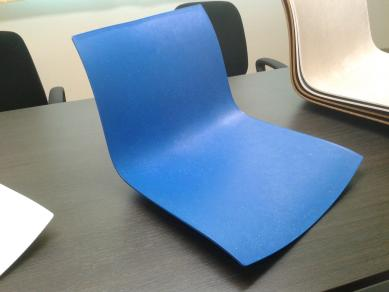 Injection molding chair