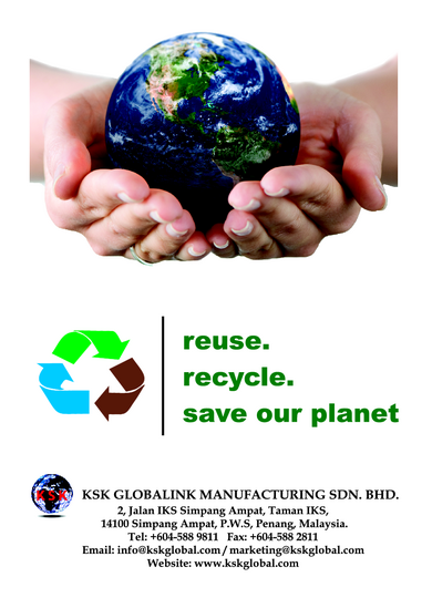 KSK go Green, Reuse, Recycle