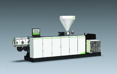 New parallel twin-screw extruder series