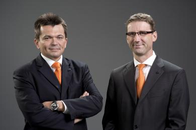 Leopold Heidegger (CFO) and Wolfgang Meyer (CEO)