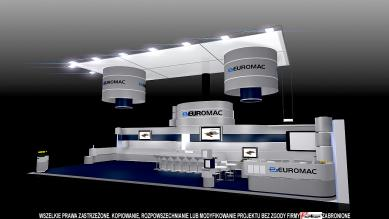 Euromac stand during the K-2013