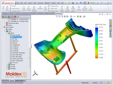 Moldex3D eDesignSYNC R12.0 for SolidWorks